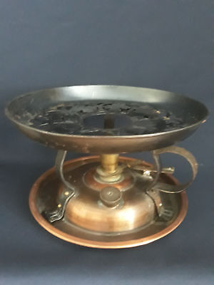 Antique copper Safer stove liquid alcohol fuel spirit