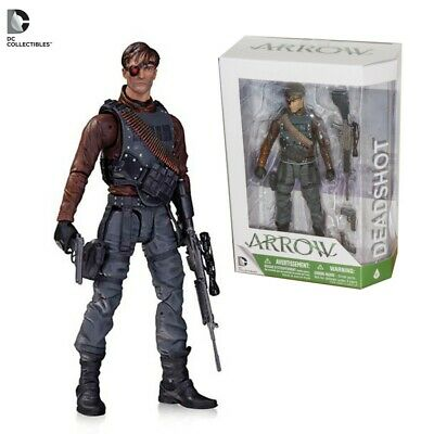 ARROW Figura Action DEADSHOT 18cm Originale DC COLLECTIBLES Green NEW Figure BOX