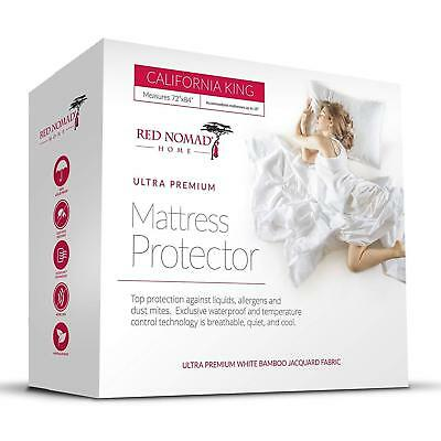 Luxury Deep Mattress Protector Breathable Cool Cycle Technology By Red Nomad