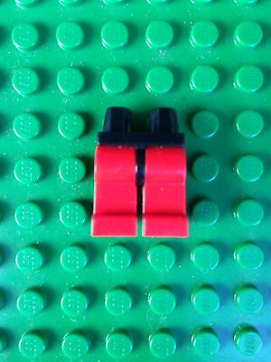 970c00 1x OMINO GAMBE rosso red MINIFIG LEGS LEGO