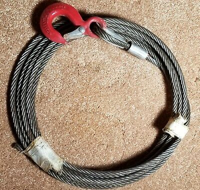 American Power Pull 15002 4 Ton Extra H-Duty Come Along / Replacement 25' Cable