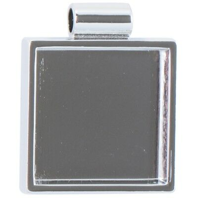 Lisa Pavelka Silver-plated Bezel-square