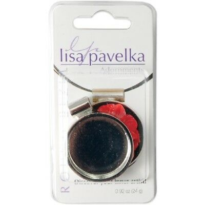 Lisa Pavelka Silver-plated Bezel-round