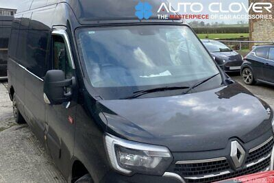 For Renault Master 2010+ Chrome Wind Deflectors Set (2 Pcs)