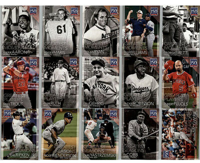 2019 Topps Series 1 150 Years Professional Baseball ~ U pick ~ Buy 5 Get 2 FREE