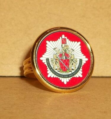 Greater Manchester Fire And Rescue Service Man's Adjustable Ring