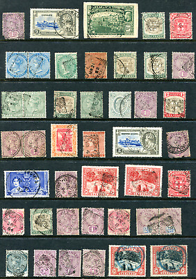 JAMAICA: (20527) selection stamps/cancels
