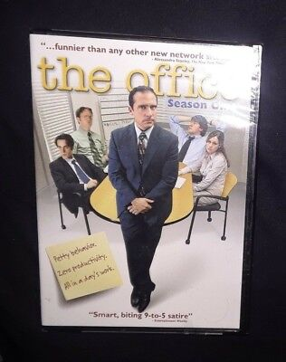 The Office Season One DVD 2005 Steven Carell, Rainn Wilson NEW/Sealed  FreeShip