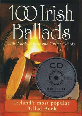 100 Irish Ballads Volume 1 Chord Melody Songbook Music Book/CD SAME DAY DISPATCH