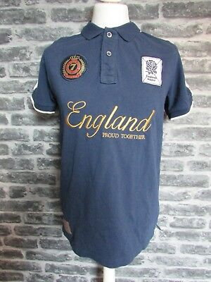 England Rugby Official Rfu 1871 Proud Polo Shirt S M L Rrp £45