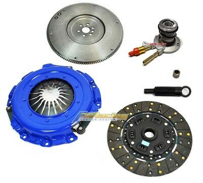 FX STAGE 3 RACING CLUTCH KIT+SLAVE for 1996-01 CHEVY S-10 GMC SONOMA HOMBRE 2.2L