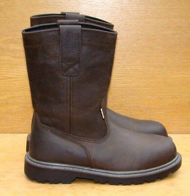 765a90c10e2 WOLVERINE FLOORHAND 10'' Wellington Soft Toe Pull On Boots W10682 ...