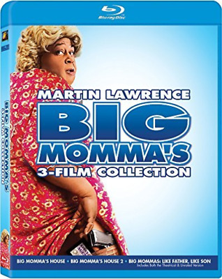 BIG MOMMA S 3-FILM COLLECTI...-BIG MOMMA S 3-FILM COLLECTION / (WS) Blu-Ray NEW