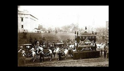 Abraham Lincoln Funeral PHOTO Columbus Ohio Procession, Civil War President