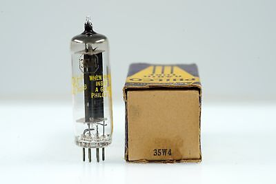 Vintage Philco 35W4 / HY90 Half Wave Rectifier Mini 7 Pin Tube Valve - BangyBang