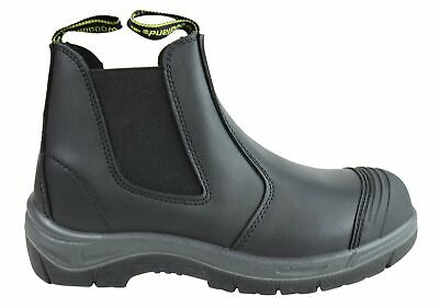 New Woodlands New Foreman Mens Leather Steel Toe Work Boots