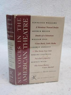 NEW VOICES IN THE AMERICAN THEATRE Arthur Miller William Inge Modern Library