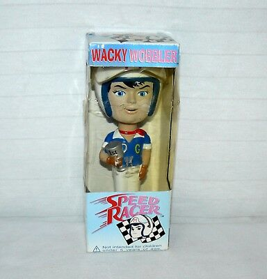 Funko Speed Racer Wacky Wobbler Bobble Head Pop Culture 7""