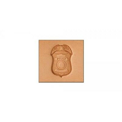 """3d Police Badge Stamping Tool - 5/8"""" X 7/8""""."""