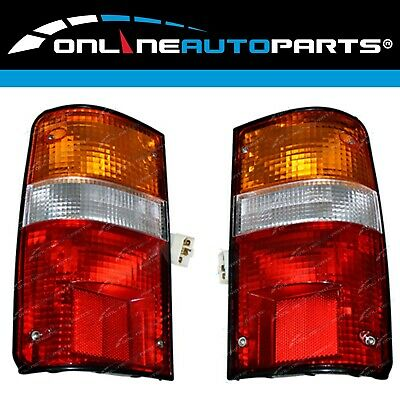 2 Rear Tail Light Lamp Pair suits Toyota Hilux Ute LN85 LN86 LN90 RN85 RN90 YN85