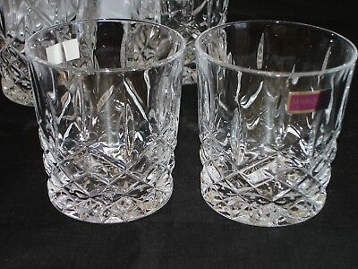 Set of 4 Marquis by Waterford Markham Double Old Fashioned Glasses 165118