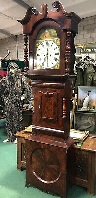 Long Case Grandfather Clock M.Brown Leeds