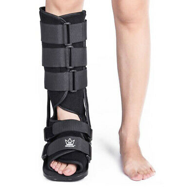 New Kingdom Fixed Walker Fracture Medical Ankle Brace Leg Injury Support Boots ✅