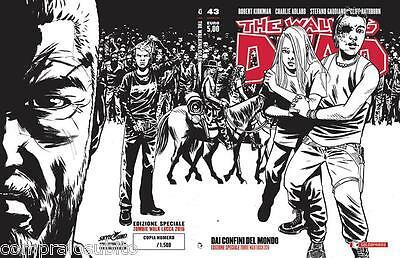 THE WALKING DEAD 43 VARIANT COVER Lucca Comics 2016 Zombie Walk New 1500 copies