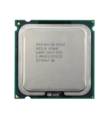 Intel Xeon SLBBM E5450 Processor 4x 3,00GHz Socket 771 Server CPU CPU 5