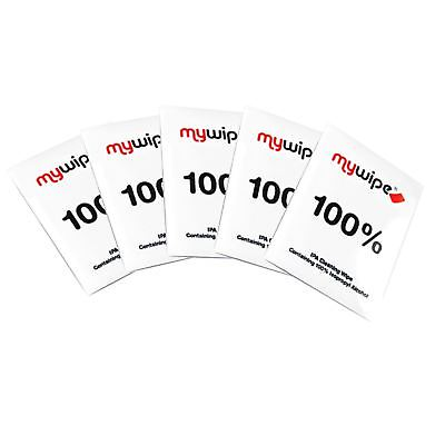 5 x Isopropyl Alcohol Cleaning Degreasing Wipes 100% IPA MyWipe 185mm x 145mm