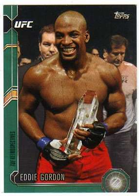 2015 Topps UFC Chronicles Verde Paralelo / 288 #242 Eddie Gordon