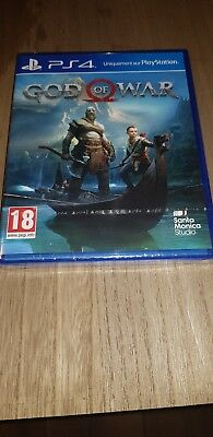 God of War Sony Playstation 4 PS4 neuf sous blister