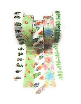 Whimsical Washi Tape 5 pack Exclusive Collection/Spring
