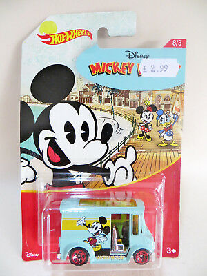 Hotwheels 'disney Mickey Mouse Bread Box Van'. Mib/carded/blister/boxed