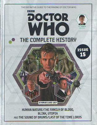 Doctor Who Complete History Vol 56 Hc 10Th Doctor Stories 185-187 Near Mint