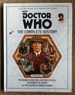Doctor Who Complete History Vol 26 Hc 4Th Doctor Stories 88-91 Near Mint
