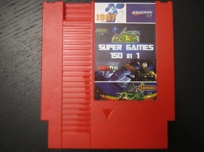 150 in 1 Game Cartridge for NES - 8 Bit Cart