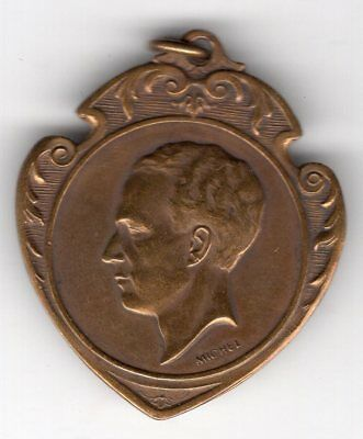 1939 Belgium Medal for the L.B.A. Patriotic Meeting, King Leopold III Obverse