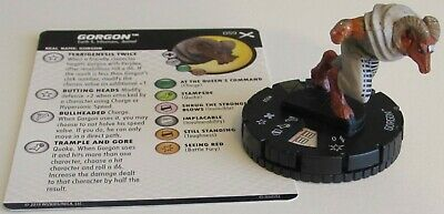 GORGON 059 Earth X Marvel HeroClix Super Rare