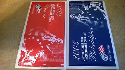 2005 Us Mint Uncirculated P & D Set