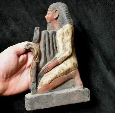 ANCIENT EGYPTIAN ANTIQUE  Statue of a Kneeling Senenmut 1500 BC