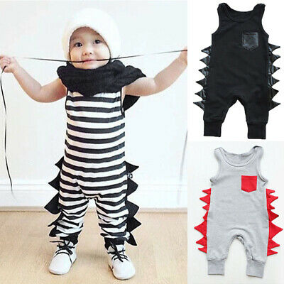 Set Baby Infant Bodysuit Jumpsuit Romper Newborn Outfit Clothes Sleeveless Girl