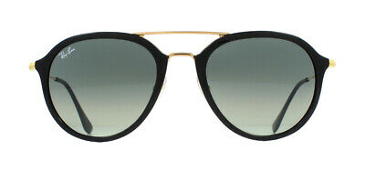 RAY-BAN SUNGLASSES 3546 187 71 Black Gold Grey Gradient - EUR 109,46 ... 8f5f5e05944e