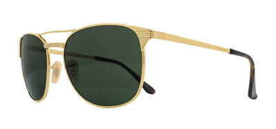 Ray-Ban Signet RB3429M Sunglasses Gold 001 Green 58mm