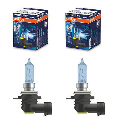 Original Osram Cool Blue Intense Duo-Paquete HIR2 Bombillas Lámparas para Faro