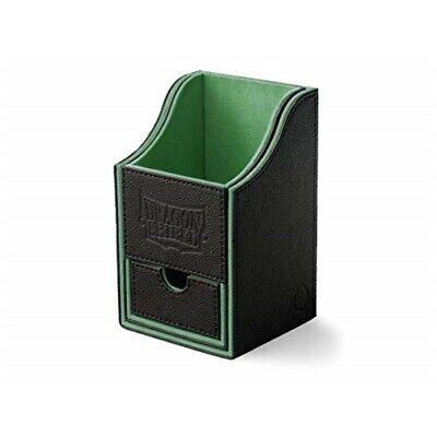 Dragon Shield: Nest Box + Mit Würfelschublade Black/green (staple)