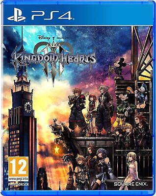 PS4 Game Kingdom Hearts (III) 3 for Sony Playstation 4 DHL Express Delivery New