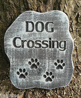 "Dog paw plaque mold 10/"" x 9.5/"" x 3//4/"" thick plaster concrete casting mould"