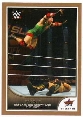 2016 Topps WWE Road to Wrestlemania Bronze Parallel #75 Ryback