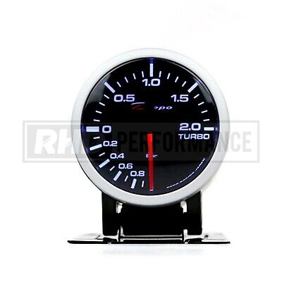 Depo Racing 60Mm Boost Pressure Gauge (Bar) | Turbo Universal Analogue